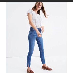 NWOT Madewell high rise skinny jeans